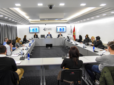 Round table, Chamber of Commerce of Montenegro, 24.02.2021