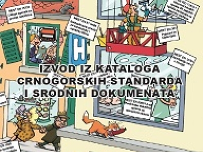 Excerpt from the catalog of Montenegrin standards and related documents