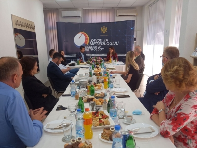 Working breakfast on the occasion of the 15th anniversary of the Institute of Metrology
