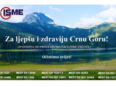 """Celebrating 30 years since the adoption of the Declaration on the Ecological State of Montenegro and the celebration of the campaign """"Let's clean the world"""""""